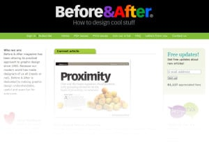 Before and After website