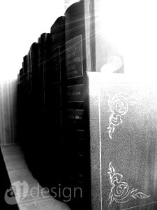 books-on-a-shelf-bw