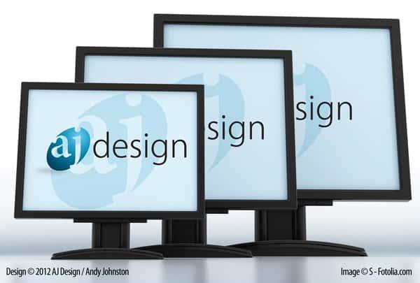 Illustrator Template Desktop Wallpaper For Typical Monitor