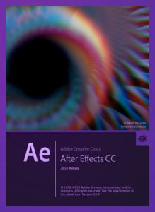 Adobe After Effects CC 2014 Splash Screen