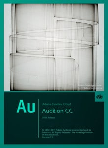 Adobe Audition CC 2014 Splash Screen