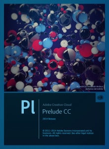 Adobe Prelude CC 2014 Splash Screen