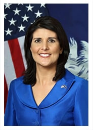 South Carolina Governor Nikki R. Haley