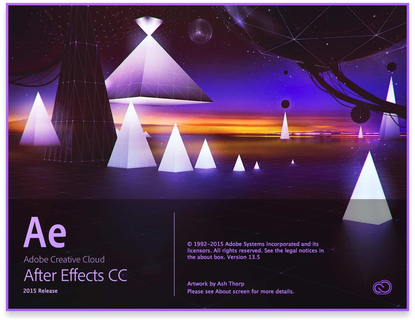 A Roundup Of Adobe Creative Cloud 2015 Splash Screens