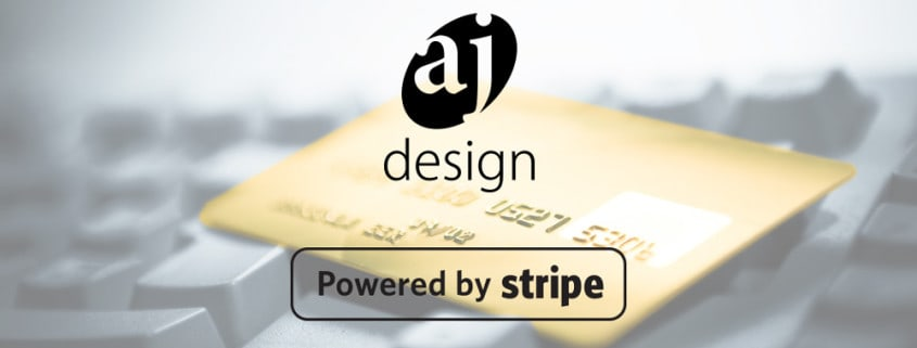AJ Design is Now Accepting Stripe for Online Payments