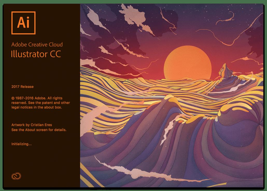 Adobe Illustrator 2015 Splash Screen