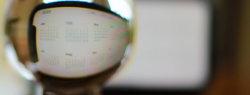 Looking at 2020 through a crystal ball
